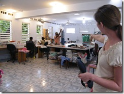 Centre Lumiere - A Sewing/Crafting School and Ministry