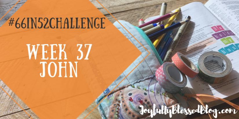 Week 37 - John