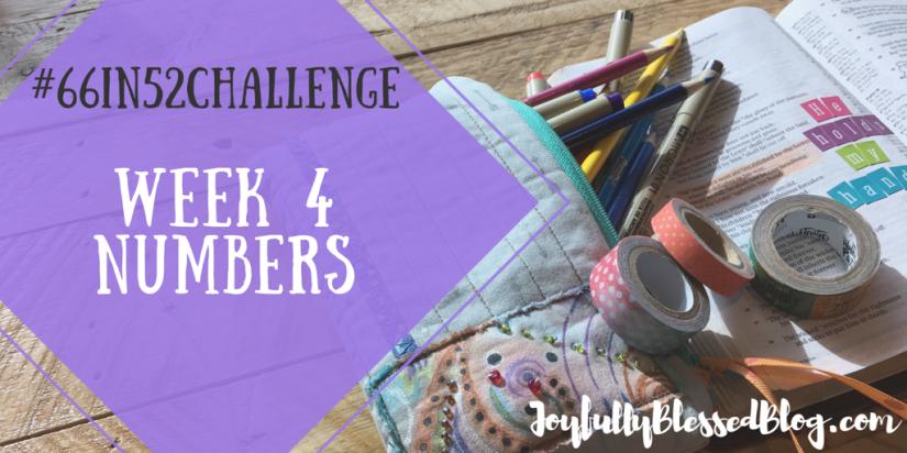 Week 4 - Numbers