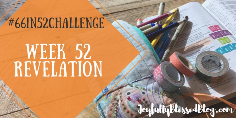 Week 52 - Revelation