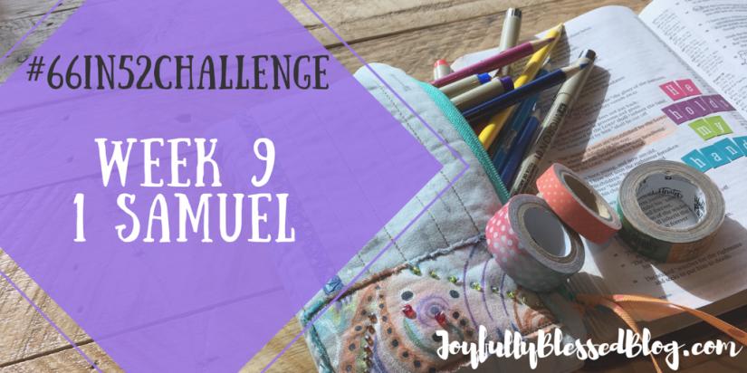 Week 9 - 1 Samuel